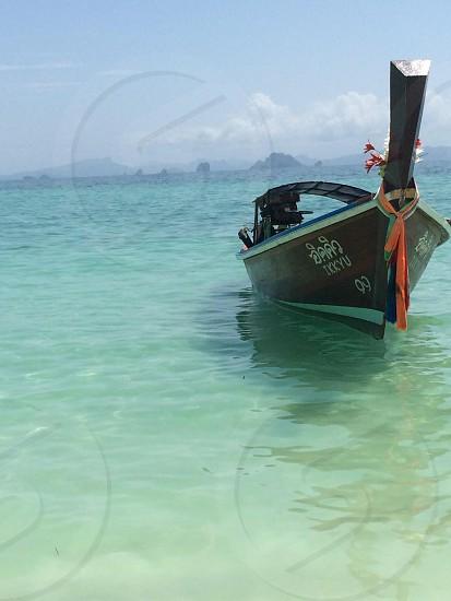 Hazy mooring...         Phi Phi Islands Thailand  photo