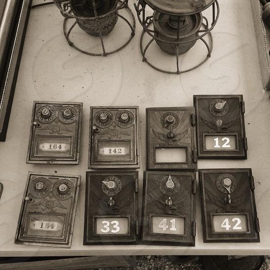 black voltmeter photo