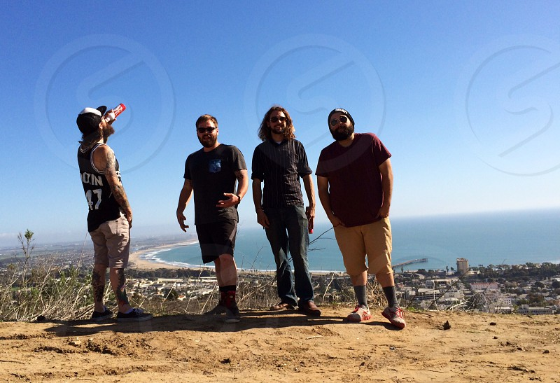Hiked to the peak of Ventura CA photo