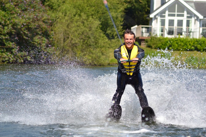 Cotswolds waterskiing  photo