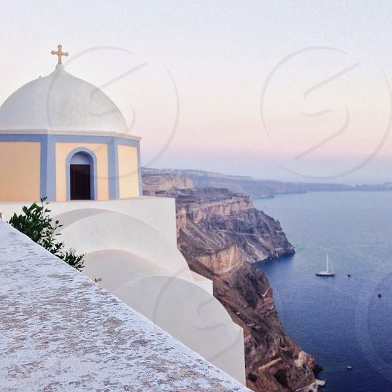 Santorini 💜 photo