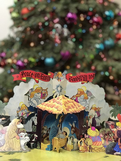 Christmas nativity peace on earth tree Christmas Album photo