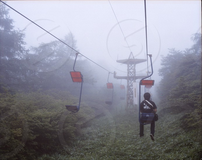 cable chair lift photo