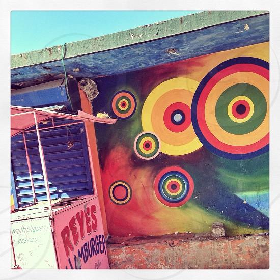 multicolored graffiti art during daytime photo