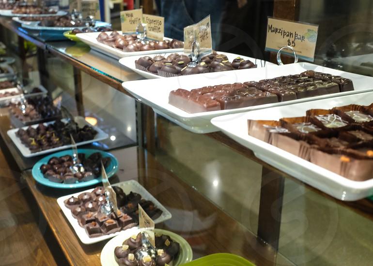 Chocolates artisan confections food photo