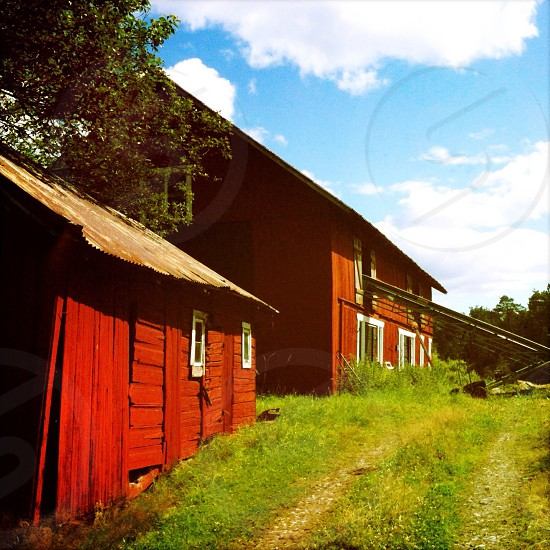 A barn in Sweden photo