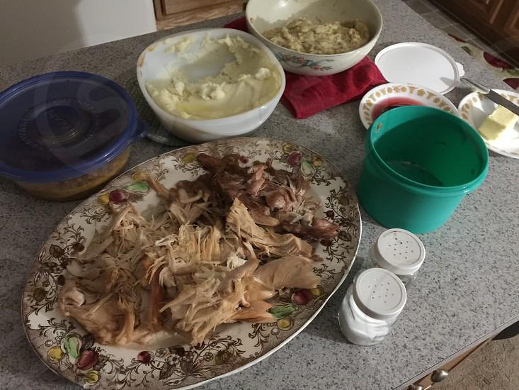 Thanksgiving dinner  photo