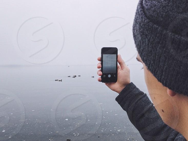 Captured morning fog photo