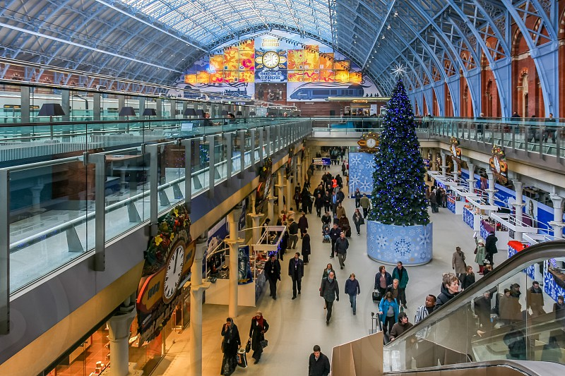St Pancras International Station photo