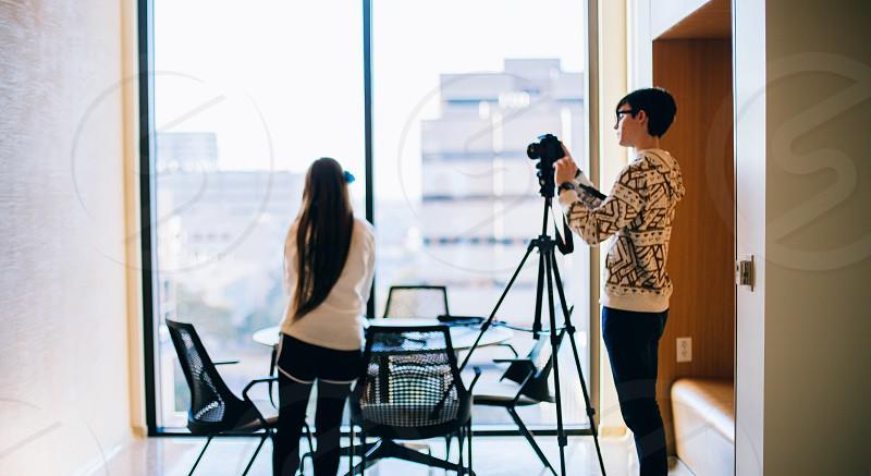 filming light window camera photo