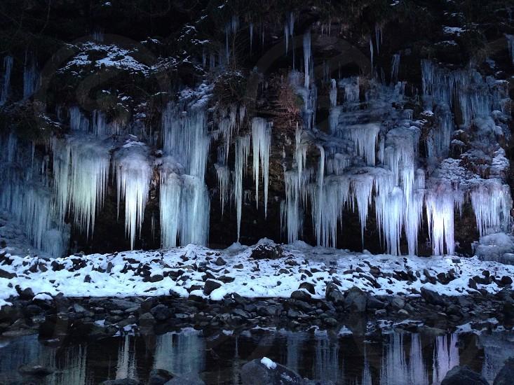 三十槌の氷柱 photo