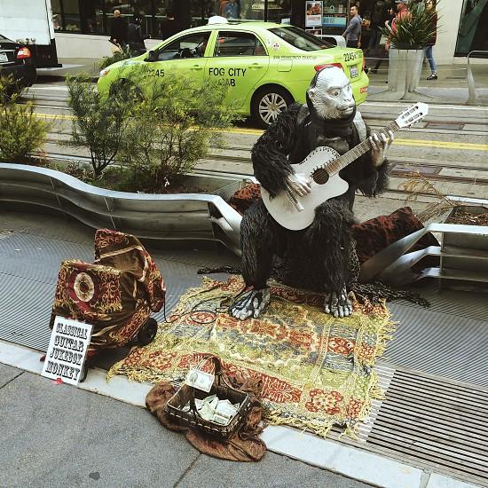 Street performer photo