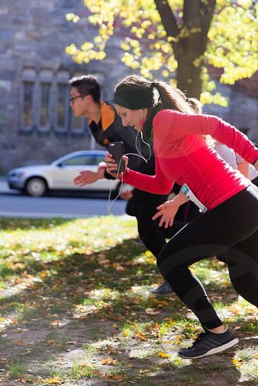 Boston running photo