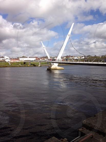 Derry peace bridge photo