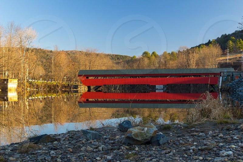 Vermont covered bridge photo