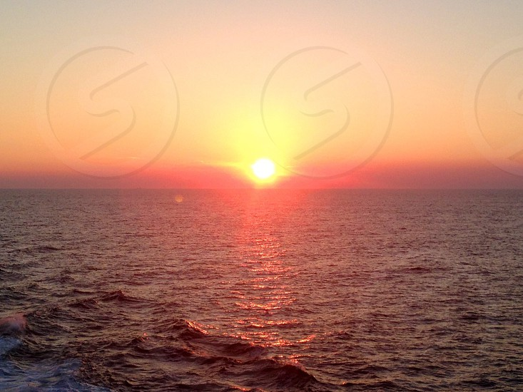 The 'rough' Norwegian Sea.   photo