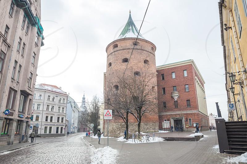 War museum at Riga Latvia. photo