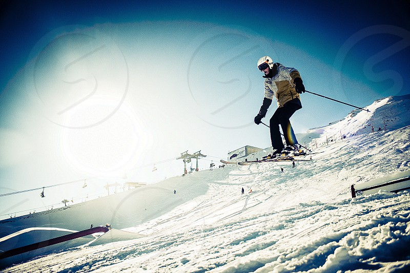 snow skee sports photo