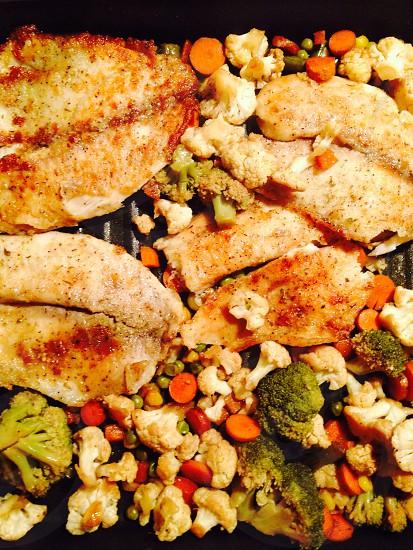 Fish food photo