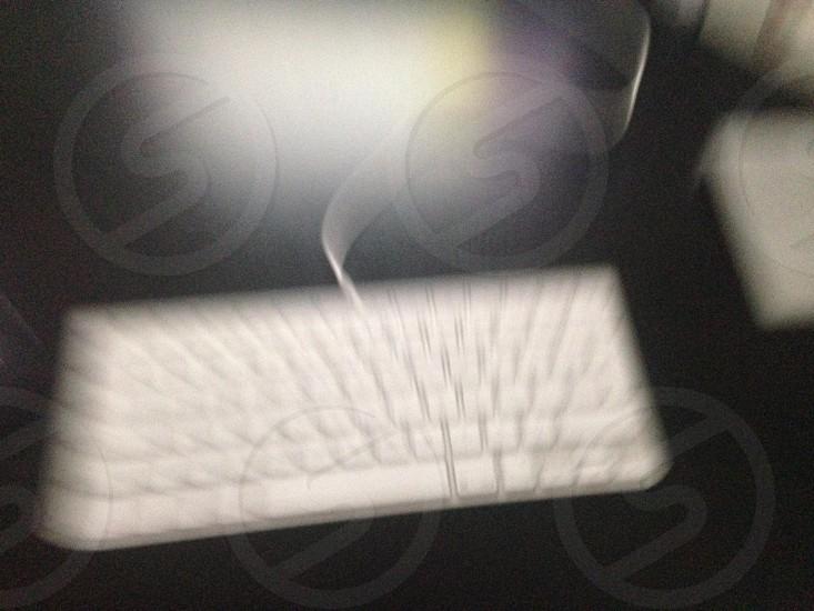 Blurry mac keyboard  photo