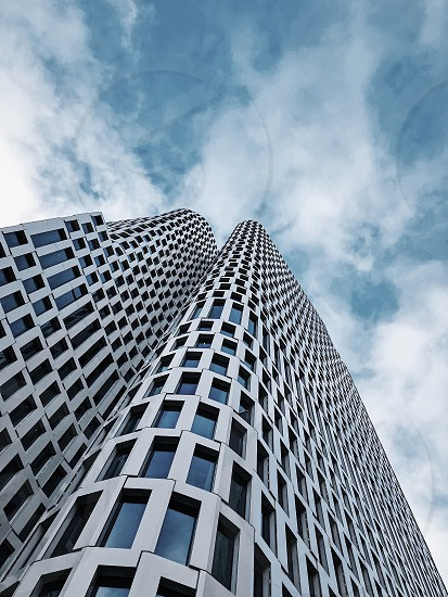 Architecture window windows building sky look up photo
