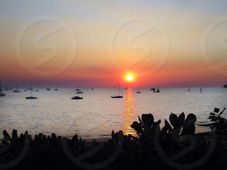 Sunsetting over Australia photo