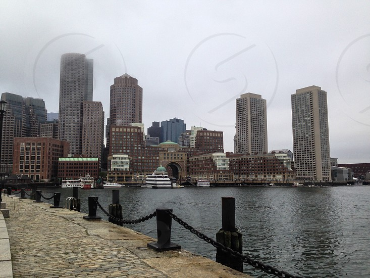 Boston Boston harbor boats New England travel  photo