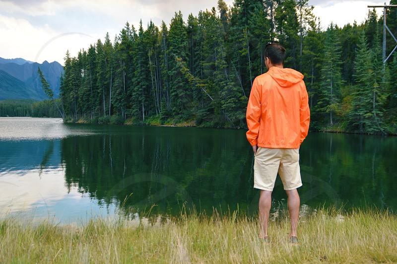 Johnson Lake Alberta Canada photo