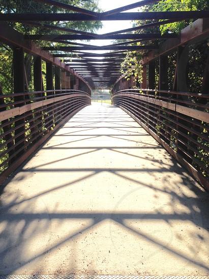 Walk the line. photo