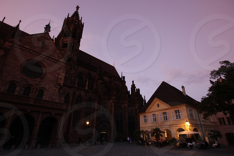 the old town of Freiburg im Breisgau in the Blackforest in the south of Germany in Europe. photo