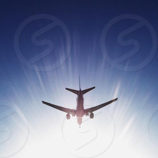 passanger airplane photo