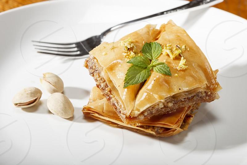 Dessert - baklava photo