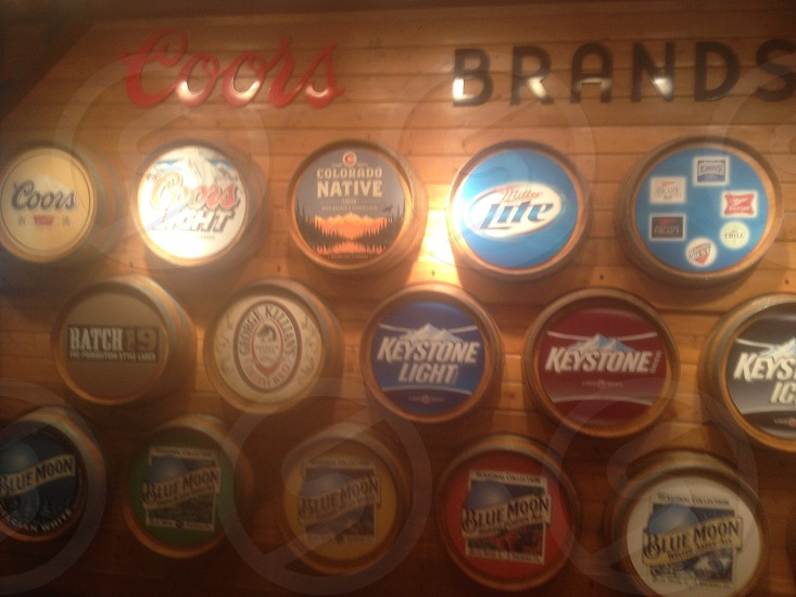 Before entering the tour at coors brewing photo