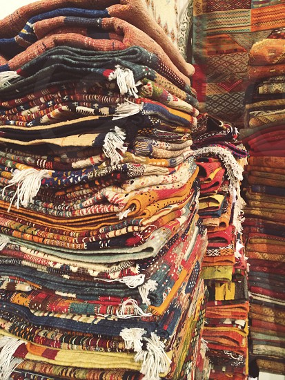 Magic Carpets | travel Morocco carpets rugs fabric textiles textures patterns photo