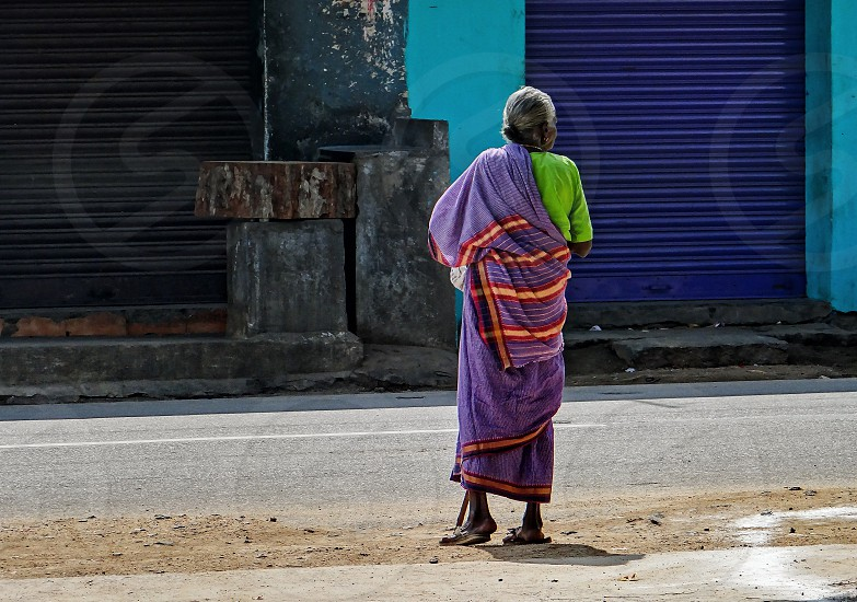 Indiaold agewomenurban photo