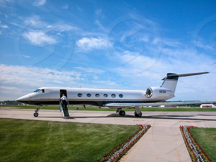 Private jet photo