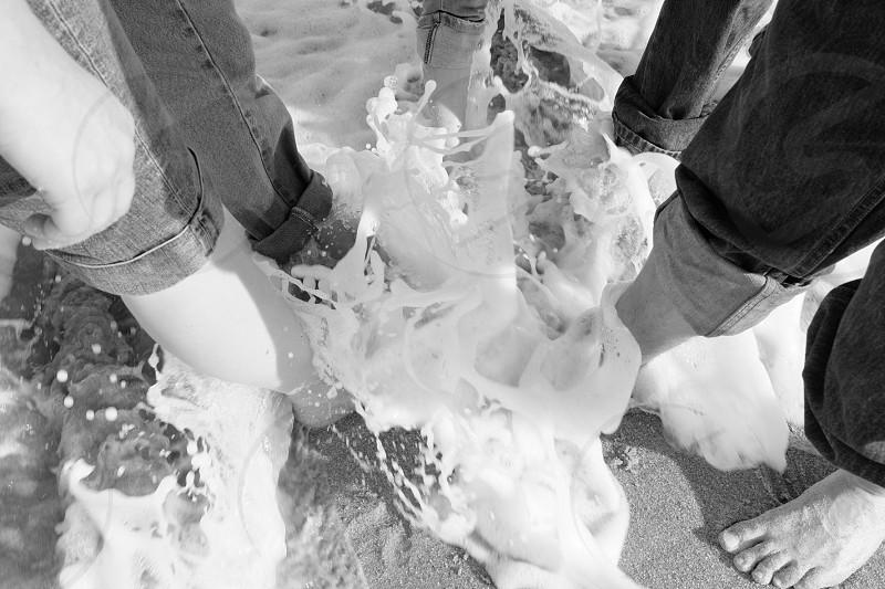 Ocean feet  photo
