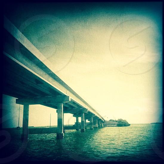 Bridge in Key West Florida  photo