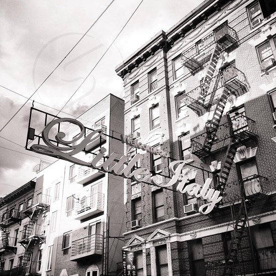 NYC little Italy  photo