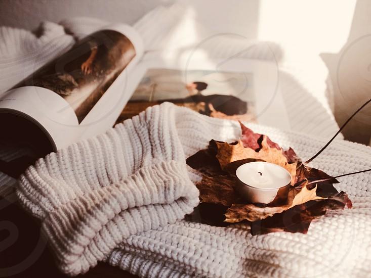 Autumn autumn colors fall fall colors autumn vibes home interior candle cozy photo