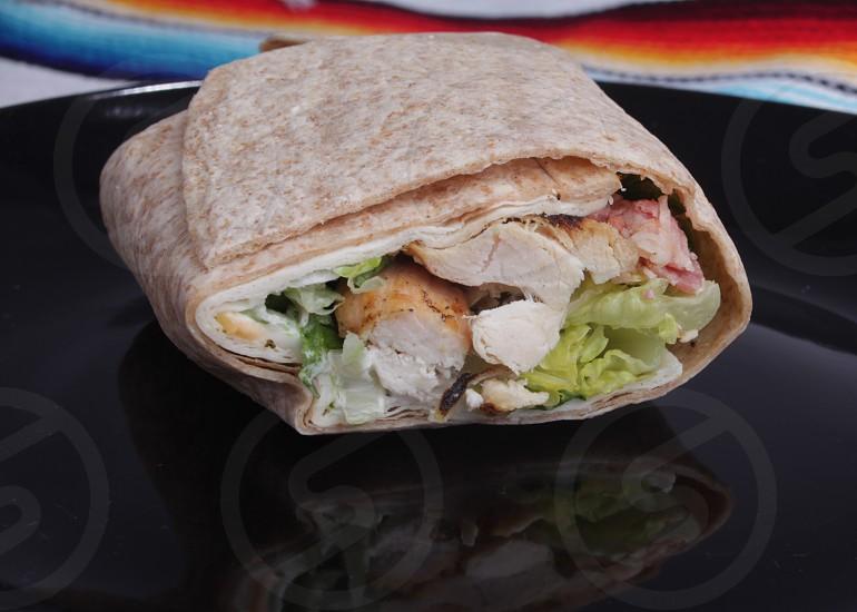 Chicken wrap  photo