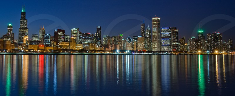 Bright Lights Chicago Nights photo