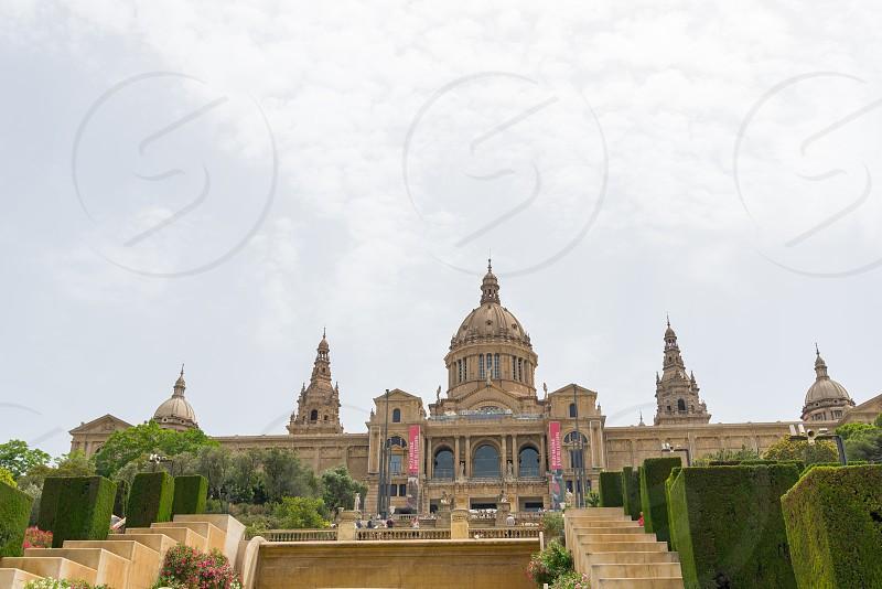 Museu Nacional d'Art de Catalunya in Barcelona Spain photo