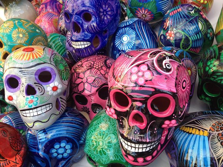 Sugar Skulls Dia de Los Muertos. photo