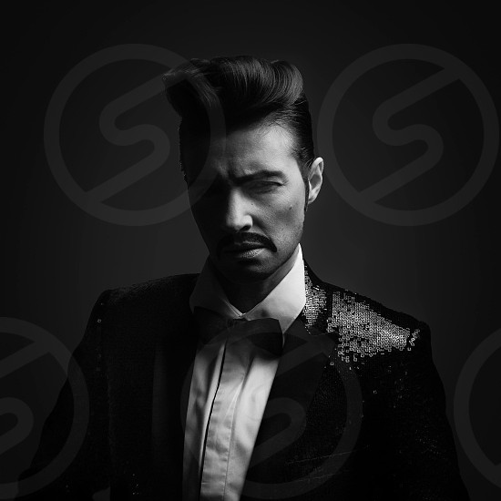 sophisticated drag king photo