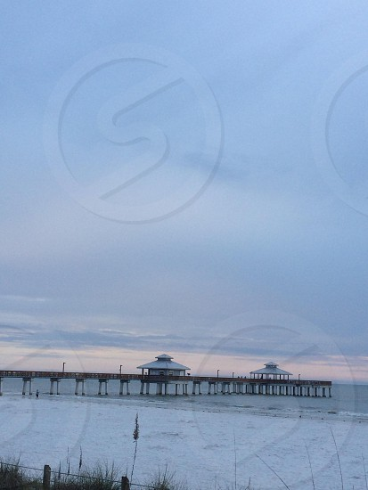 Pier in Clearwater Beach Fl photo
