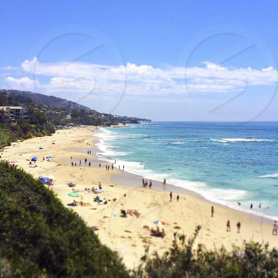 Montage resort beach Laguna Beach California photo