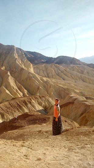 golden canyon death valley photo