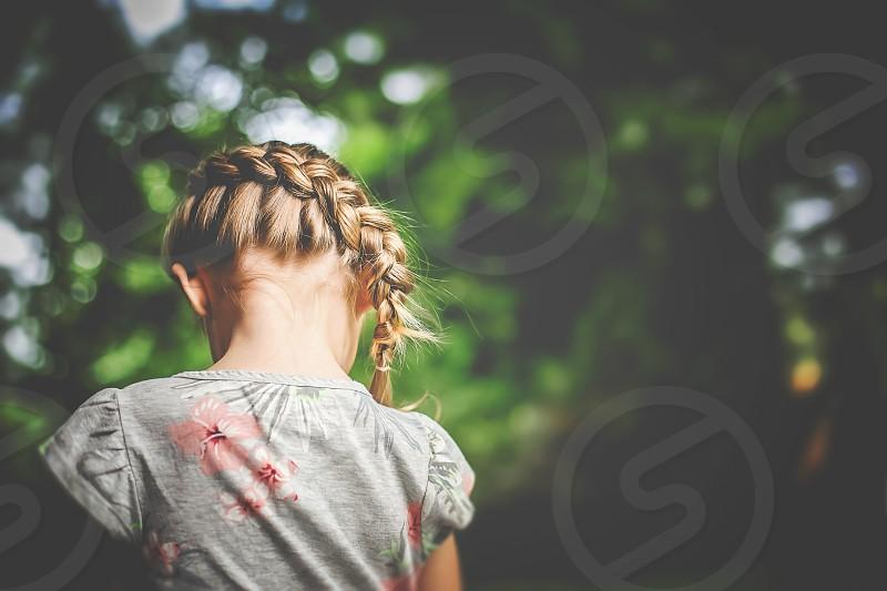 summer hair summer fashion summer girl hair photo