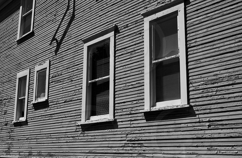 Peeling Paint Building Exterior photo